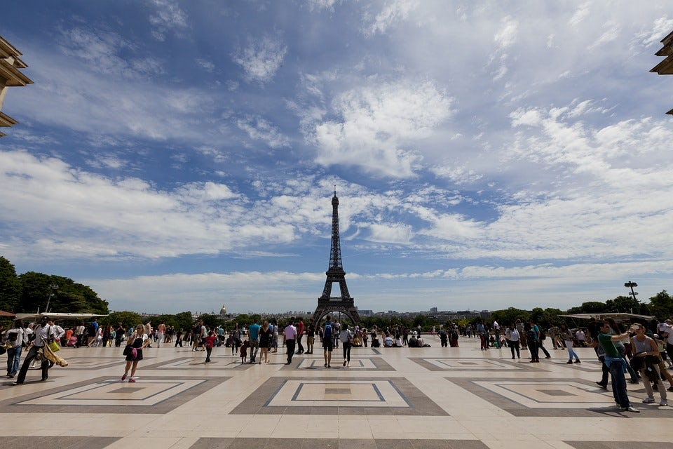 The eiffel tower, beautiful place with a romantic atmosphere!