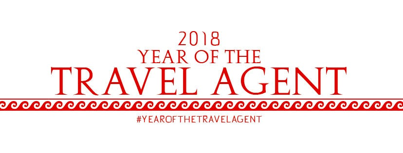 This is The Year of the Travel Agent.