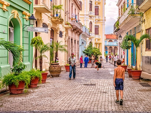Old Havana and Prado walking tour