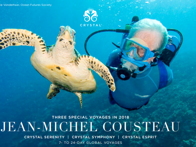 Three Special Voyages in 2018 with Jean-Michel Cousteau