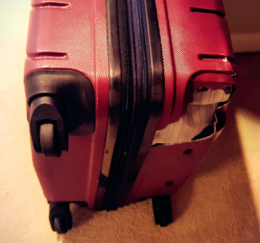 10 Things to Do When The Airline Damages Your Luggage