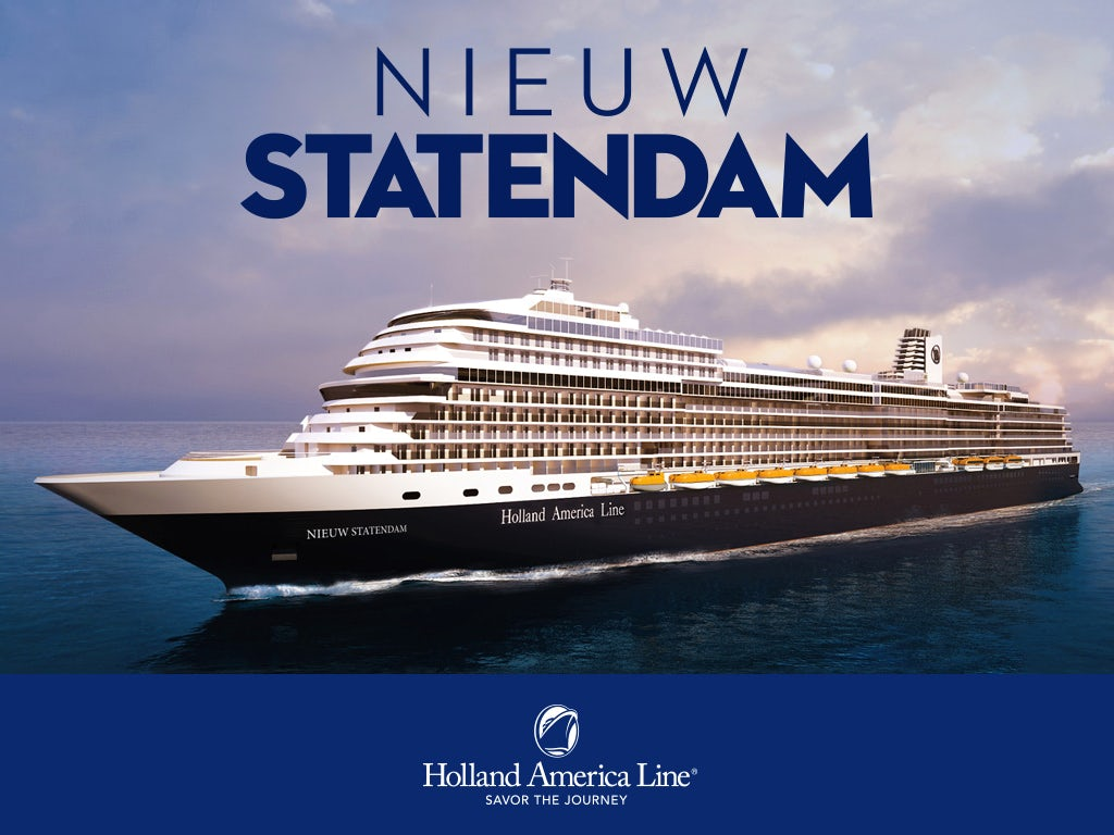 Holland America Line - Receive up to $50 onboard credit per stateroom!