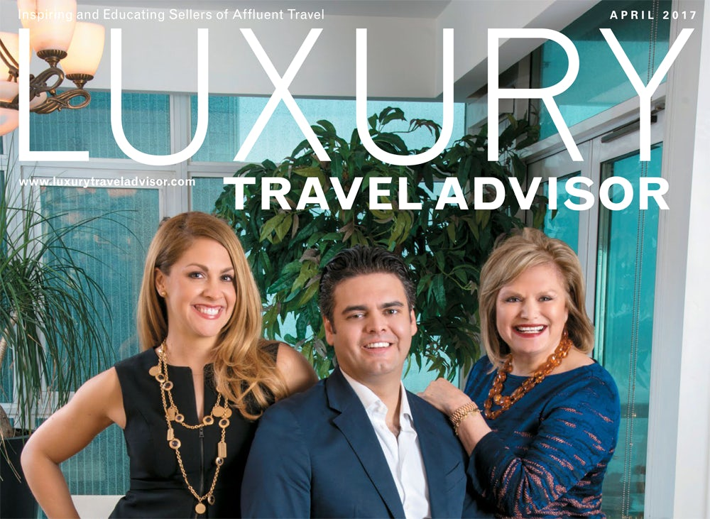 Luxury Travel Advisor Magazine featuring Travel World of Coronado