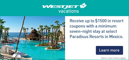 WestJet Vacations Oct 2018