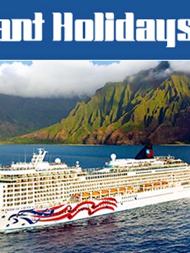 Cruise Hawaii's Four Main Islands and be rewarded with your choice of perks!