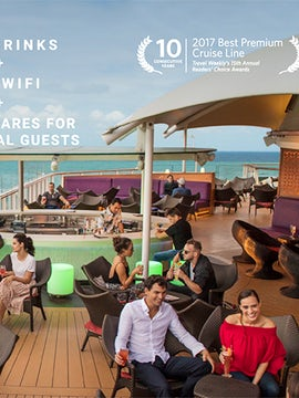 FREE DRINKS + FREE WIFI on Celebrity Cruises