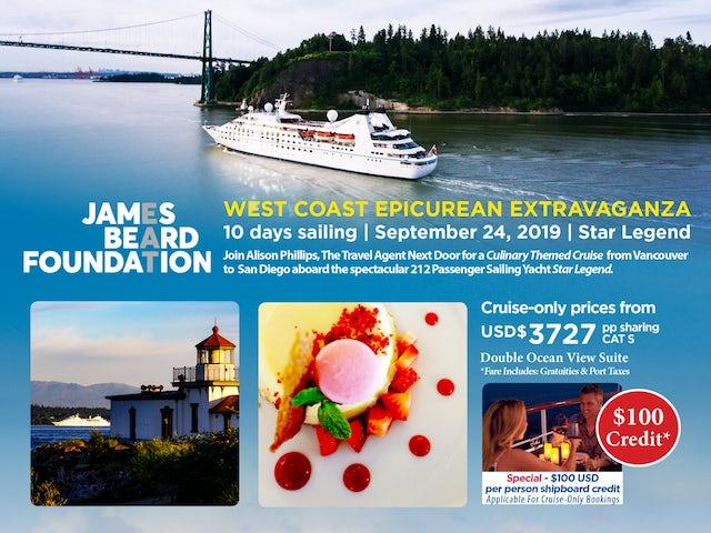 West Coast Epicurean Extravaganza