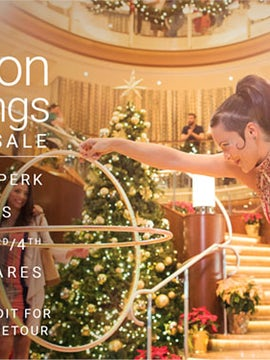 Seasons of Savings Sales on Celebrity Cruises