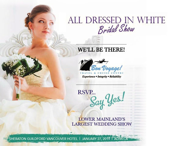 All Dressed in White Bridal Show