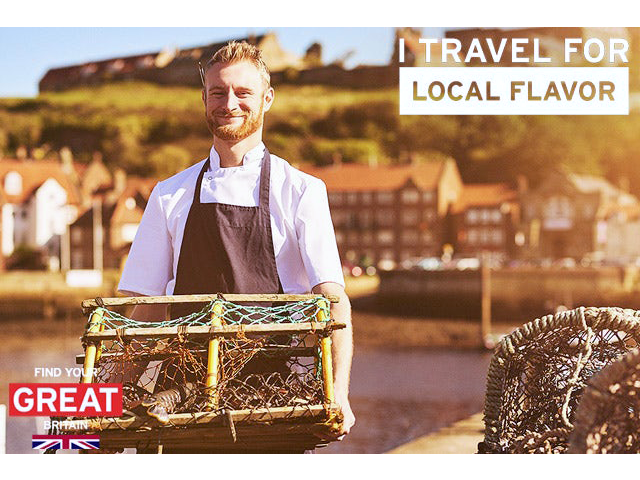 Local Flavours of Great Britain: England, Wales & Scotland