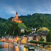 Romantic Rhine and Mosel River