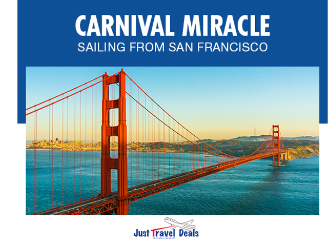 Carnival Cruises. Our First-Ever Cruises from San Francisco!