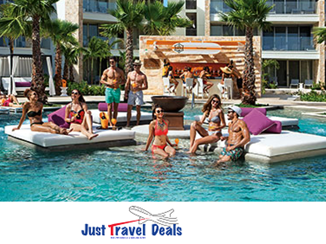 Complimentary Rooms, Upgrades, & Much More for Groups at Breathless Riviera Cancun Resort & Spa!
