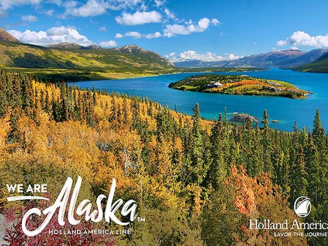 Receive bonus spending money on ANY 2019 Alaska Land + Sea Journey