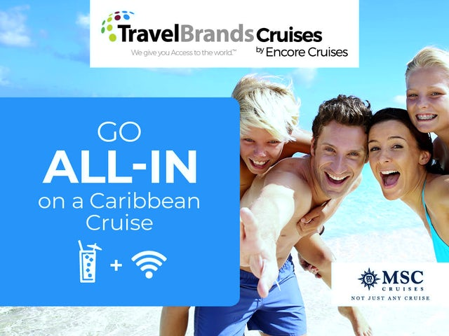 Encore Cruises  - Free drinks and free WiFi!