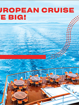 Air Canada Vacations: PLAN YOUR EUROPEAN CRUISE EARLY TO SAVE BIG!