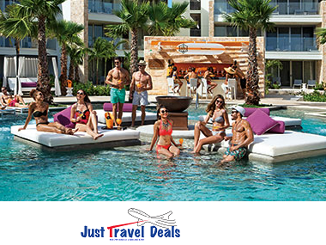 Complimentary Rooms, Upgrades & Much More at Breathless Riviera Cancun Resort & Spa