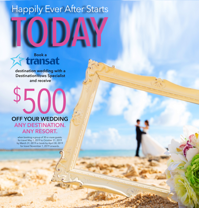 EXCLUSIVE Destination Vows Offer!!!