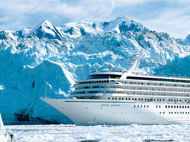 SAVE up to $1200 Exploring the Alaskan Frontier with Crystal Cruises