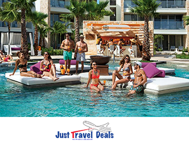 Complimentary Rooms, Upgrades & Much More at Breathless Riviera Cancun Resort & Spa!