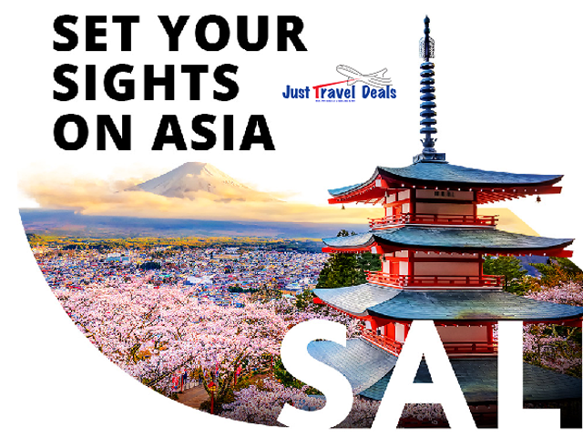 Discover Asia with our special fares!