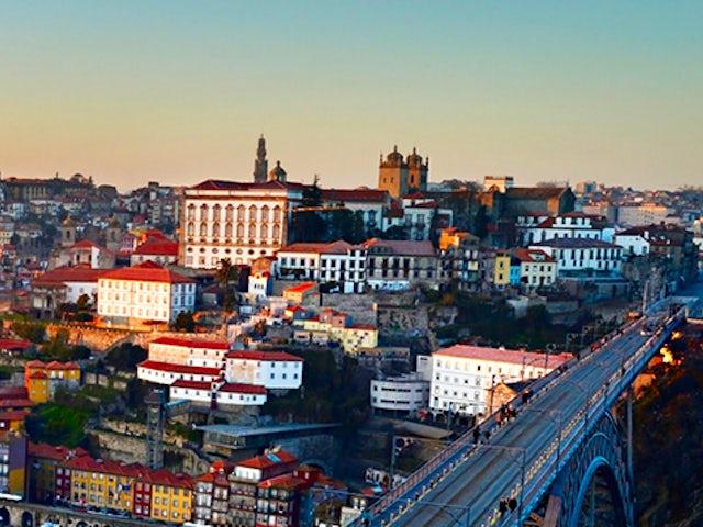 Barcelona, Madrid, Lisbon and Porto with Monograms