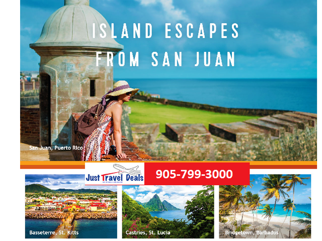 Royal Caribbean Cruises San Juan adventures starting from $619 CAD!