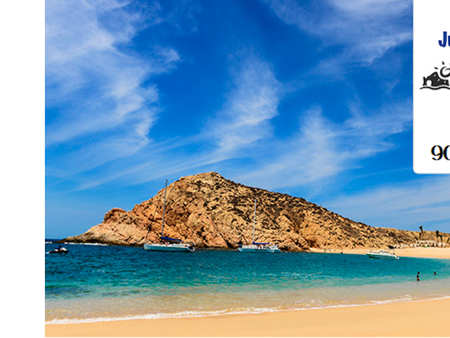 Los Cabos Mexico Vacations on Sale – 3 nights with air from $435