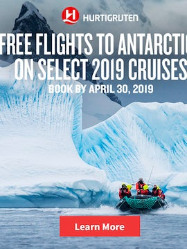 FREE Flights to Antarctica on Select 2019 Cruises - Book by 4/30/19