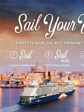 Sail Your Way on Celebrity Cruises!