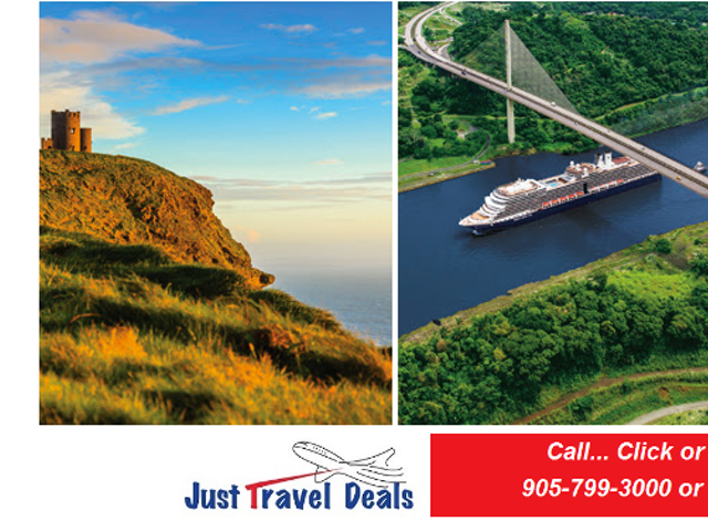 Discover Exotic Experiences with these Exclusive Offers! Ireland, Holland America Line & South Pacific