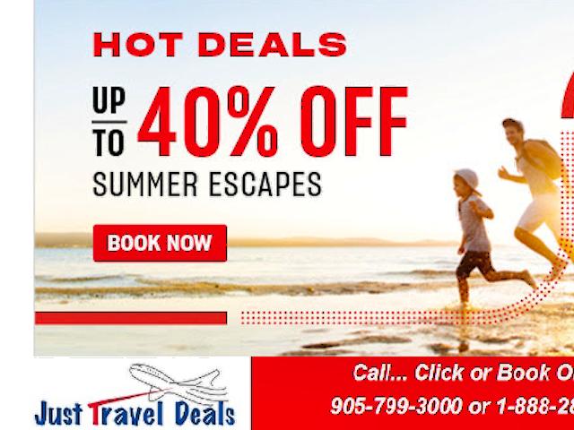Hot Deals to Riviera Maya, beautiful Barbados & Cancun