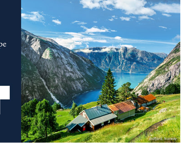 Book your Scandinavia sailing today & save $1,300 CAD per person on airfare