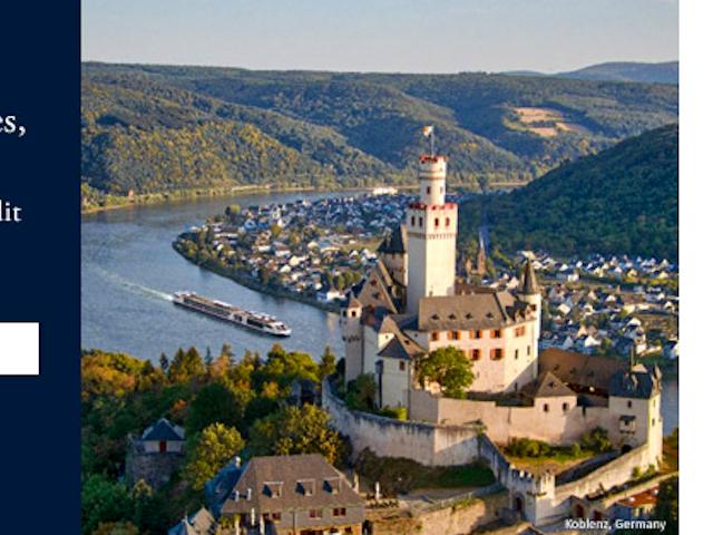 NEW, lower cruise fares on Rhine & Danube river cruises!