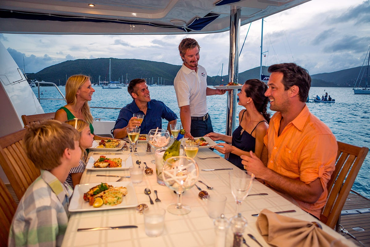 Crewed Yacht Vacations