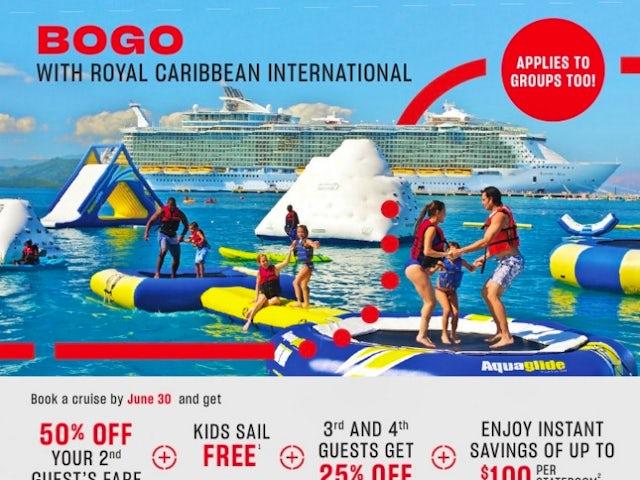 BOGO with Royal Caribbean International