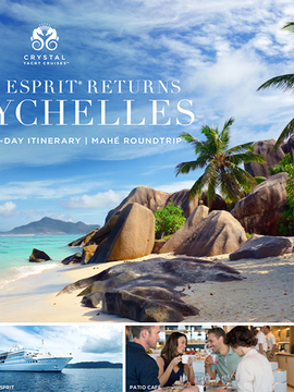 Crystal Esprit Returns to the Seychelles in 2020