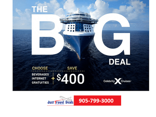 CELBRITY CRUISES BIGGEST SALE OF THE YEAR.