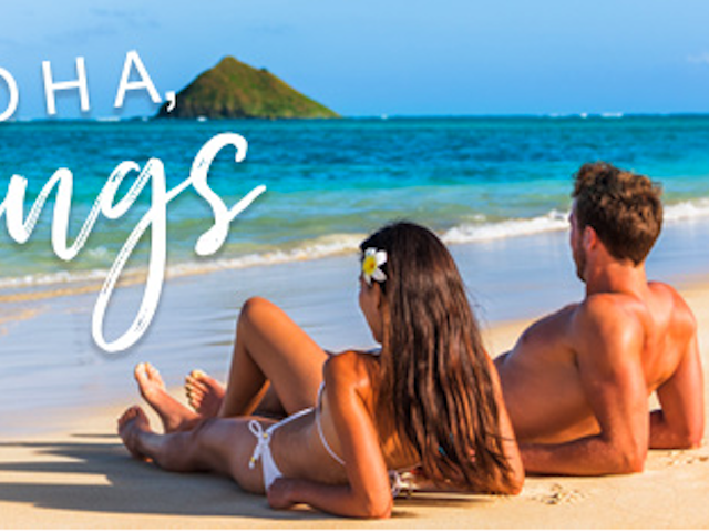Limited Time Only! Instant Savings in Hawaii SAVE UP TO $300 INSTANTLY ON HAWAII BOOKINGS!