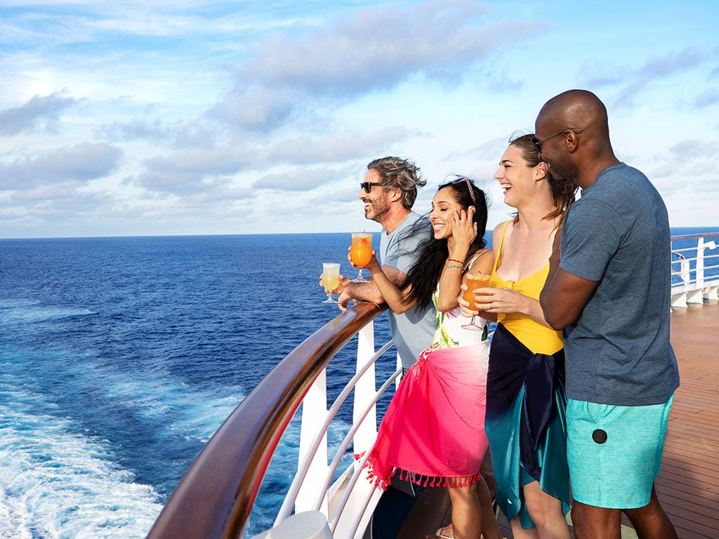 Carnival - Receive free upgrades and onboard credits!