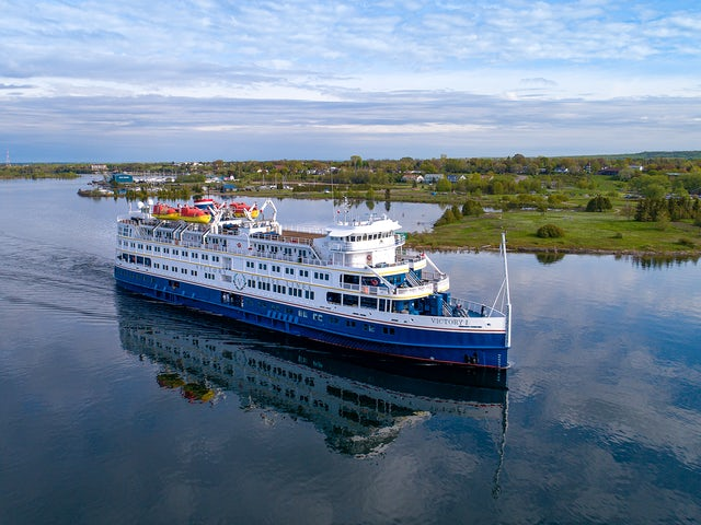 Explore the Splendours of all Five Great Lakes aboard Victory Cruise Lines