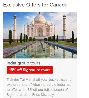 India Group Tours