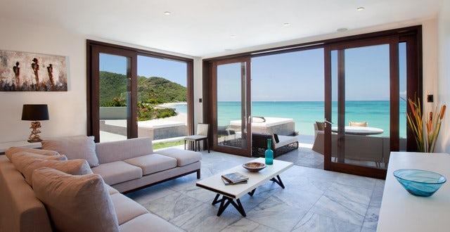 Caribbean Villa - ocean view, Antigua