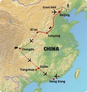 Beijing to HongKong