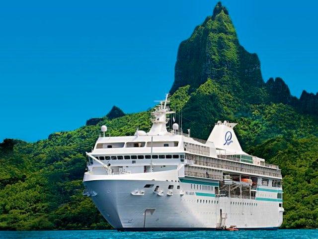 Embark the m/s Paul Gauguin in Papeete, Tahiti, Society Islands