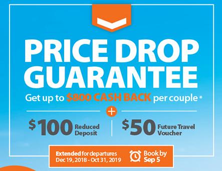 EXTENDED! Price Drop Guarantee