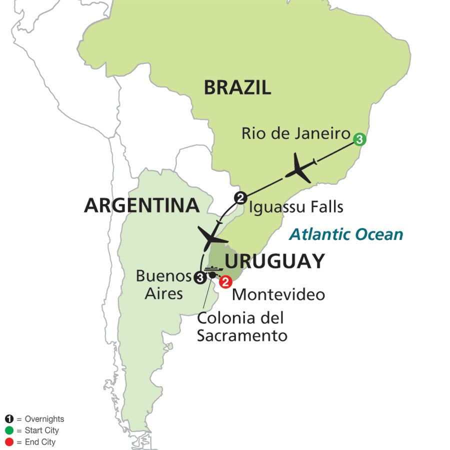 Fit For Travel Brazil: The Best Of Brazil & Argentina With Uruguay