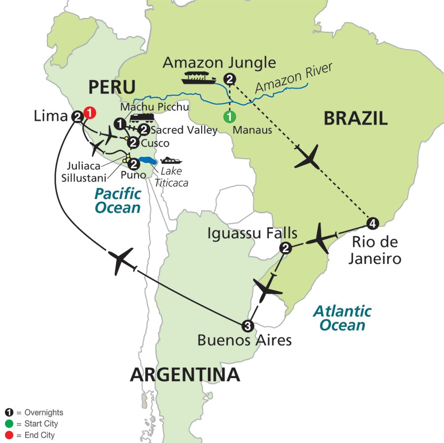 Fit For Travel Brazil: Ultimate South America With Brazil's Amazon
