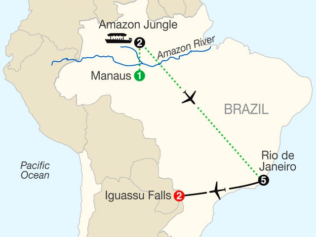 Brazilian Getaway with Brazil's Amazon