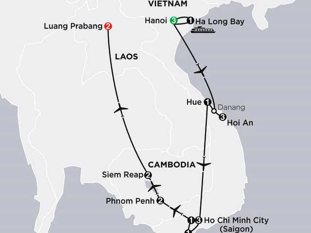 Simply Vietnam with Cambodia and Luang Prabang